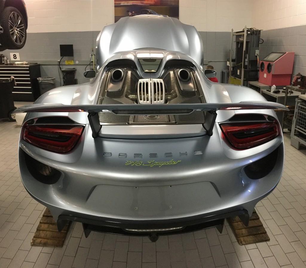 Clear Car Bra: Porsche 918 Full Car Clear Bra