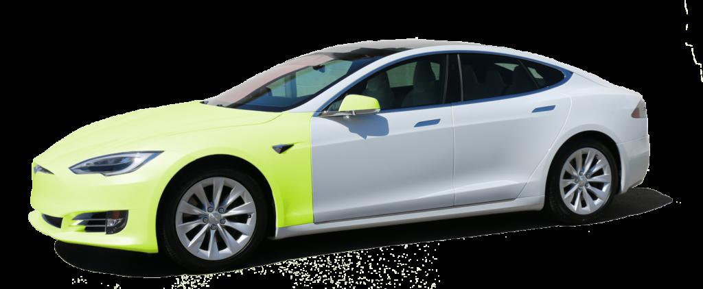 Tesla Full Front