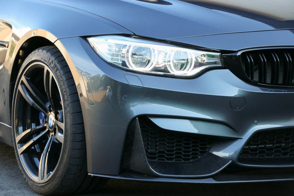 BMW Headlight Protection Film in Tampa Florida - Auto Paint Guard