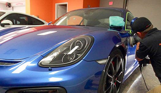 One Step Paint Correction Machine Polish - Detailing Tampa Florida - Auto Paint Guard