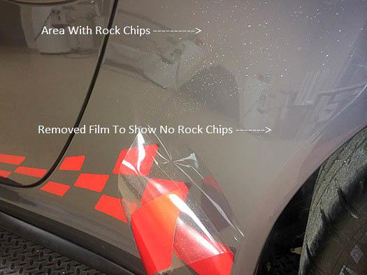 Paint Protection Film Prevents Paint Chips on Car - Tampa Florida - Auto Paint Guard