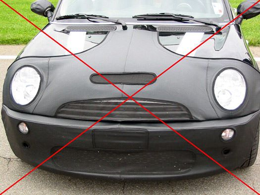 Why Bother With The Alternative Car Bras - Tampa Florida - Auto Paint Guard