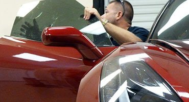 Window Tinting - Auto Detailing Service - Paint Correction - Luxury Cars - Tampa Florida - Auto Paint Guard - Rear Mirror - Detailed Photo
