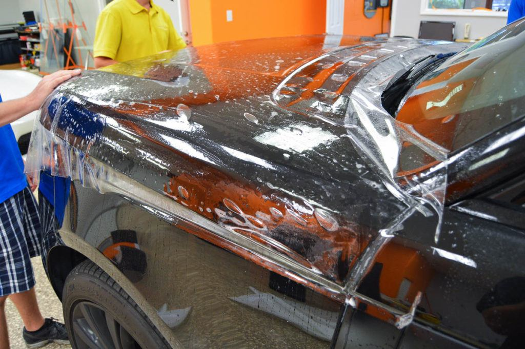 Auto Paint Protection Film - Luxury SUV - Tampa Florida - Auto Paint Guard