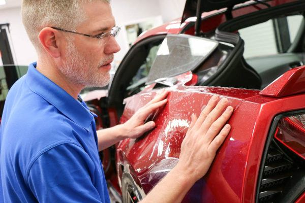 Corvette Paint Protection Film Installation in Tampa Florida - Auto Paint Guard