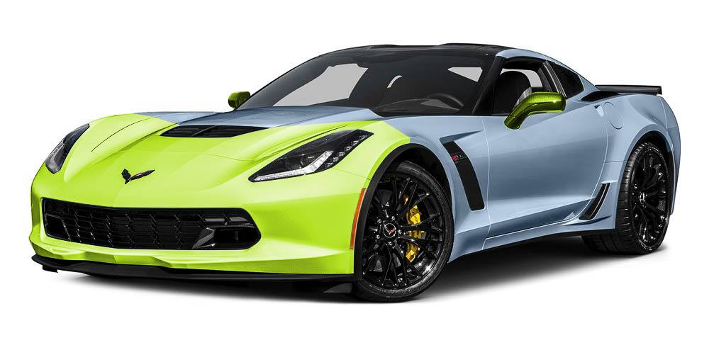 Corvette Paint Protection Film Packages - Standard Package - Auto Paint Guard