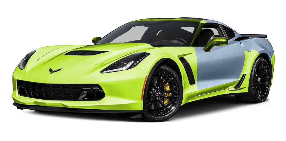 Corvette Paint Protection Film Packages - Track Package - Auto Paint Guard