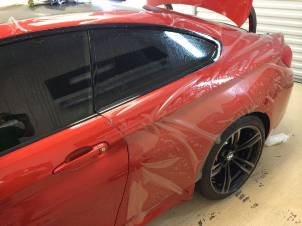 Auto Detailing Service - Paint Correction - Luxury Cars - Tampa Florida - Auto Paint Guard - Rear Mirror - Detailed Photo
