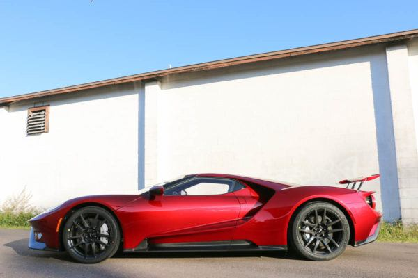 Paint Protection Film in Tampa Florida - Ford GT - Auto Paint Guard