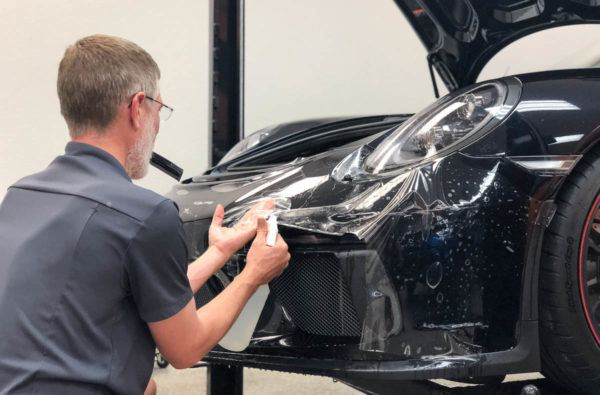 Paint Protection Film in Tampa Florida - Porsche Install - Auto Paint Guard