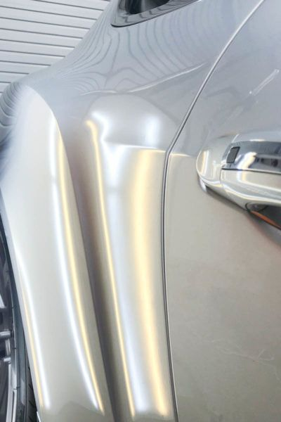 Paintless Dent Repair in Tampa Florida - Bentley - Auto Paint Guard - After