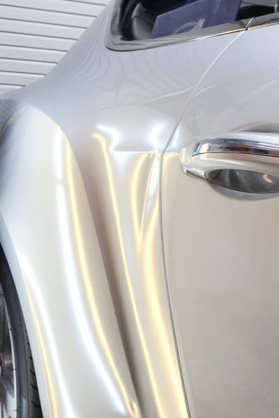 Paintless Dent Repair in Tampa Florida - Bentley - Auto Paint Guard - Before