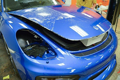 Porsche GT4 Paint Protection Film Installation - Tampa Florida - Auto Paint Guard