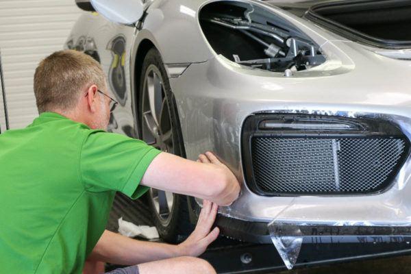 Porsche Paint Protection Film Tampa Florida - Auto Paint Guard