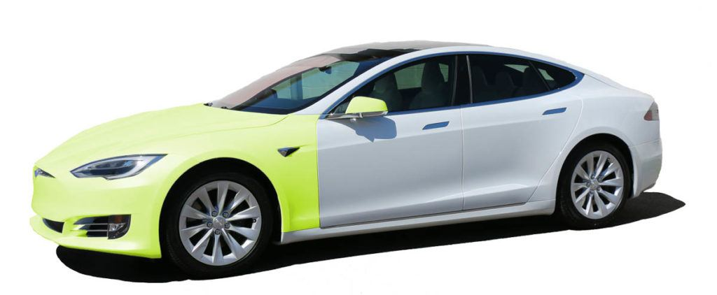 Tesla Paint Protection Film Packages in Tampa Florida - Full Front - Auto Paint Guard