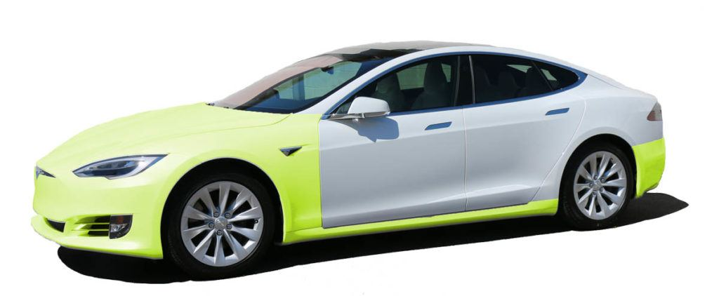 Tesla Paint Protection Film Packages in Tampa Florida - Highway - Auto Paint Guard