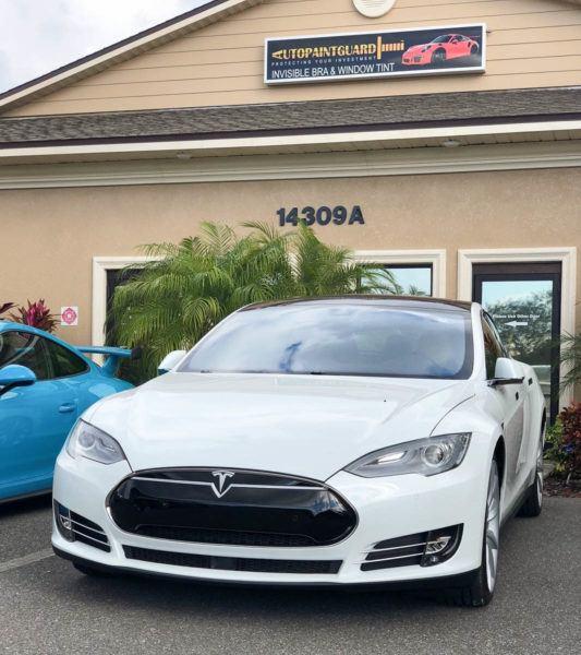 Tesla Paint Protection Film - Tampa Florida - Auto Paint Guard