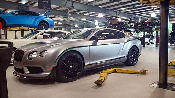 Window Tint Service Tampa Florida - Bentley CXP18 - Auto Paint Guard