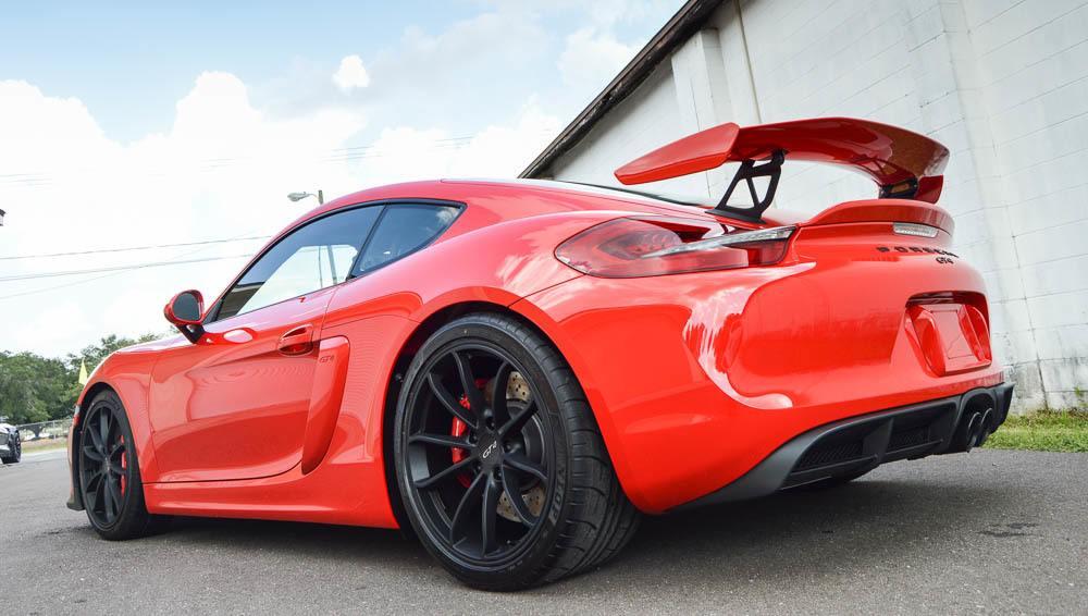 Auto Detailing Service - Paint Correction - Luxury Cars - Porsche GT4 - Tampa Florida - Auto Paint Guard